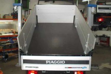 Bordwanderhöhung Standard mit Holzboden