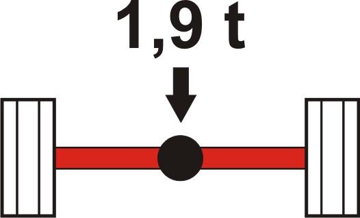 Achslasterhöhung hinten S 85