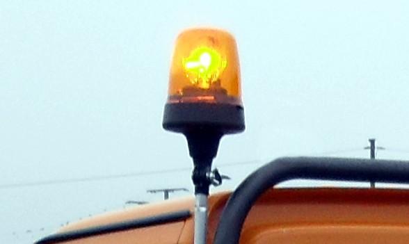 LED Rundumleuchte mit Stativ (Standard)