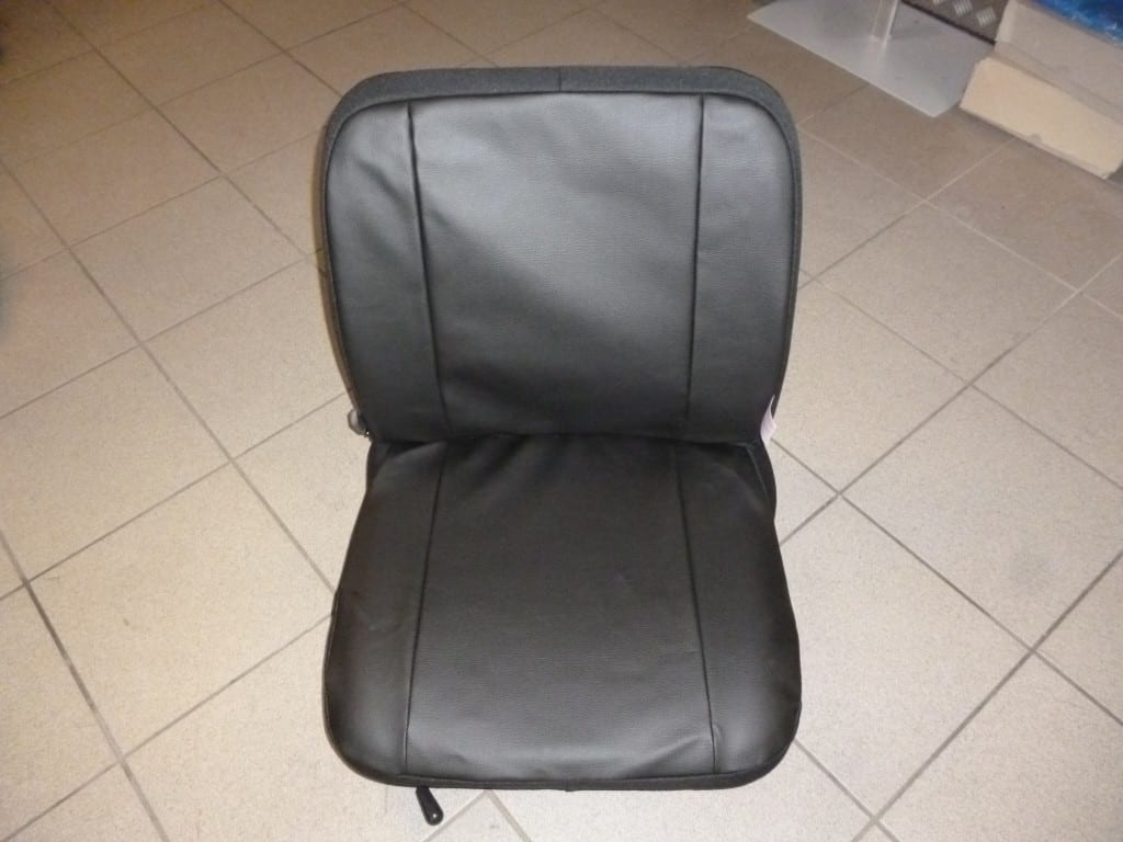Sitzbezug aus Kunstleder