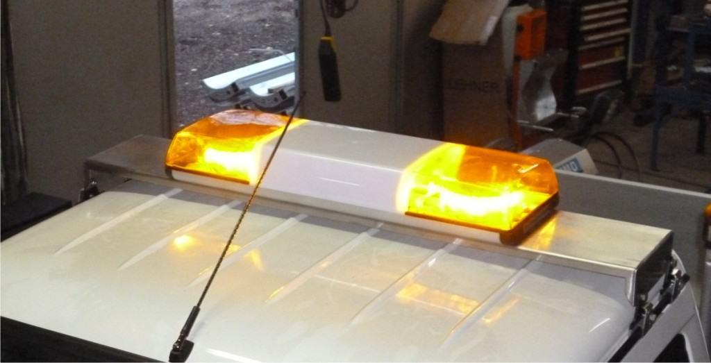 LED Lichtwarnbalken (Standard)